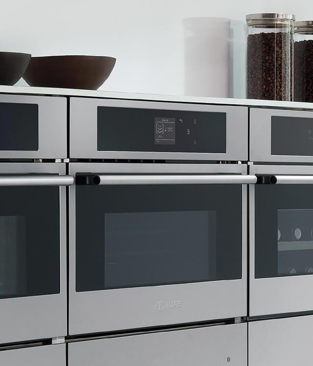 ILVE combination steel oven